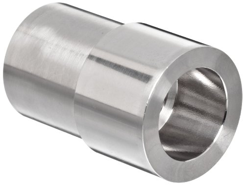 Parker Weld-Lok 8-1/2 AW-SS Stainless Steel 316 Socket Weld Tube Fitting, Adapter, 1/2' Tube OD x 1/2' Pipe Size, 0.55' Bore