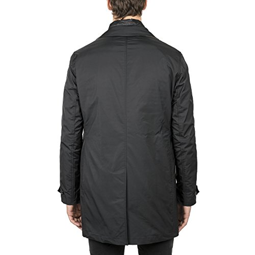 Burberry Herren 4023781 Schwarz Wolle Mantel