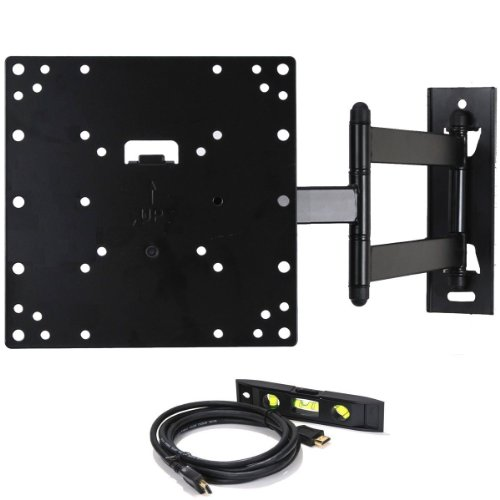 VideoSecu Articulating Swing Arm LCD LED Plasma TV Wall Mount Bracket Fit LG 26'' 32'' 43LF5900 32LB5800 26LH20 32LH20 32LH30 32LF11 32CS560 32LS3500 32LM6200 37LH20 37CS560 49'' 49UJ6200 TV ML531B 1C8 by VideoSecu
