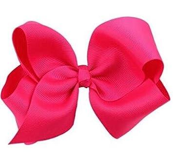 Estes.el Big Bow Horquillas para el pelo para niñ os y niñ as, accesorios para el pelo 1 amarillo