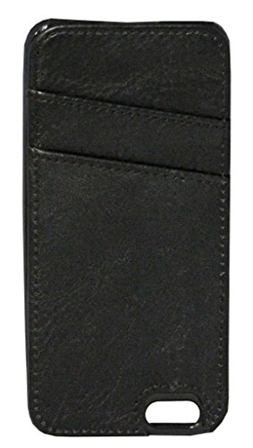 K. Carroll Secure Style RFID Protective Case with Credit Card Sleeve for  iPhone 5 - Black