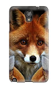 Galaxy Case - Tpu Case Protective For Galaxy Note 3- The Fox