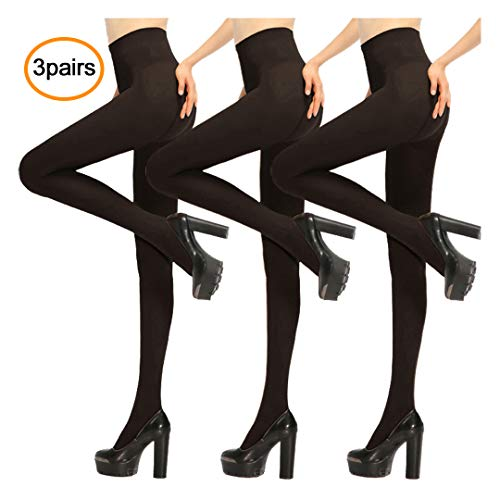 Women Tight,Ladies Tights,Womens Opaque Pantyhose Lady Black Leggings ()