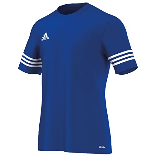 D'entraînement De Manches 14 blanc Maillot À Entrada Bleu Pour Homme Football nbsp; Adidas Courtes B4dfqw