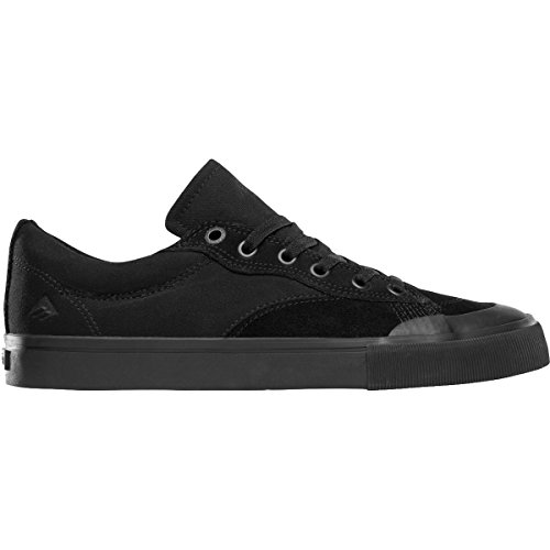 Emerica Men's Indicator Low Skate Shoe, Black/Black/Gum, 8.5 Medium US (Mens Low Skateboard Shoes)