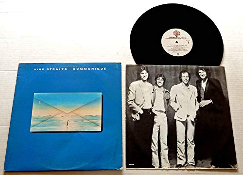 Dire Straits COMMUNIQUE (22B2) - Warner Brothers Records 1979 - USED Vinyl LP Record - 1979 Pressing HS 3330 - Lady Writer - Once Upon A Time In The West - Follow Me Home - Angel Of Mercy