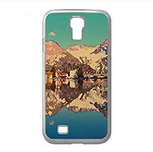 Arosa Reflected Watercolor style Cover Samsung Galaxy S4 I9500 Case (Switzerland Watercolor style Cover Samsung Galaxy S4 I9500 Case)
