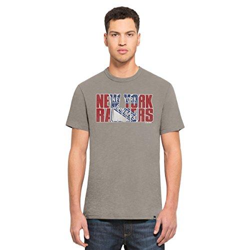 Ny Rangers Classic Shirt (NHL New York Rangers Men's '47 Scrum Basic Tee, Medium, Wolf)