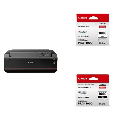 Canon imagePROGRAF PRO-1000 Professional Photographic Inkjet Photo Printer