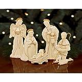 Lenox Innocence Nativity 6-piece Holy Family Set