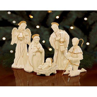 Lenox Innocence Nativity 6-piece Holy Family Set by Lenox