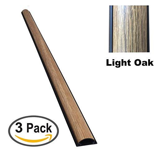 ChordSavers StudioSaver Cord Cover - 3 Pieces - Color: Light Oak