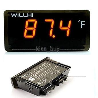 DP-iot AC 110 V 220 V termómetro digital LCD -22 ~ + 572 grados ...