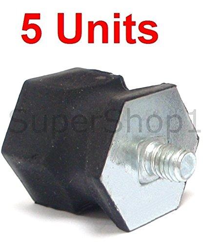 Set of 5 AV Buffer Mount for DOLMAR 112 114 117 119 120 and Makita 6000 6400 - Chainsaw Dolmar