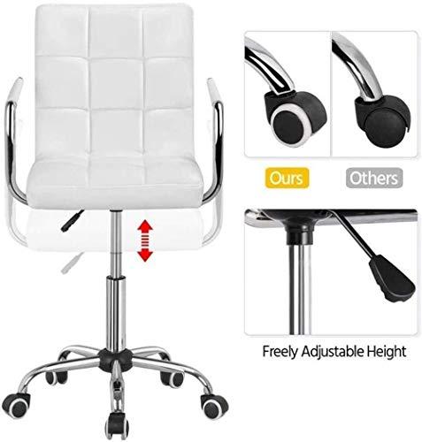 Multifunktionell ryggstöd justerbar svängbar stol, lämplig för hem, kontor, student, konferens knästol