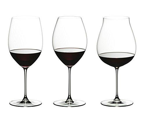 (Riedel 5449/74 Veritas Wine Glasses, Clear)