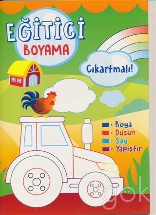 Egitici Boyama Cikartmali Yesil Collective 9786051244662