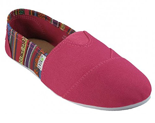 Scarpe Da Donna Slip On Shoes Di Easy Usa Fuchsia