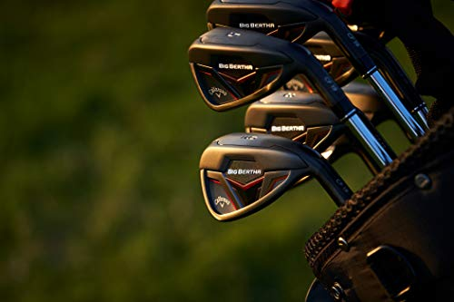 Callaway Golf 2019 Men's Big Bertha Iron Set (Set of 5 Total Clubs: 6-PW, Right Hand, KBS Max 90 Steel Shaft, Regular Flex)
