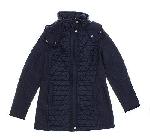 Marc New York by Andrew Marc Womens Quilted Hooded Jacket (X-Large, ()