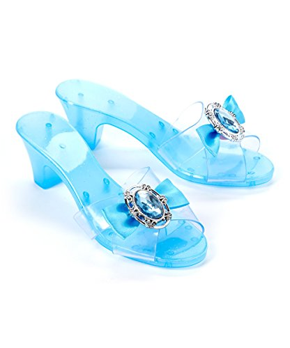 Snow Queen Costume Matching Slippers for Girls Dress Up