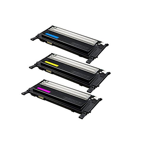 Compatible Replacement Color Set For Samsung? CLT-C409S CLT-M409S CL-Y409S Toner Cartridges 3Pack - Cyan, Magenta, Yellow, C M Y 1000 Yield ()