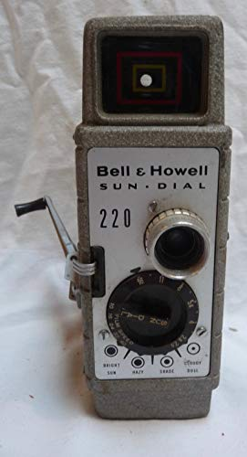 (1950s Bell & Howell Sun Dial 200 8mm Movie)