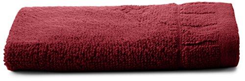 - Calvin Klein Home Sculpted Grid Wash Cloth, Wine