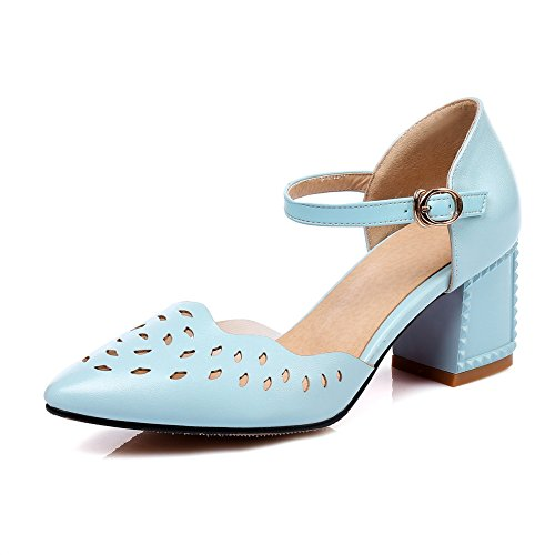 Sandali BalaMasa Donna 35 Blue ASL05463 Zeppa Blu con Aqrx6qU5