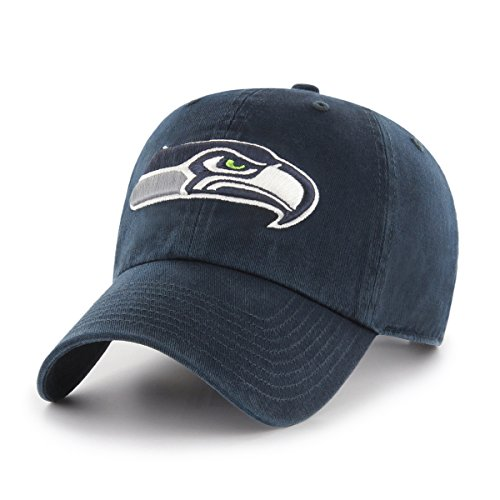 Seattle Seahawks Nfl Eye - NFL Seattle Seahawks OTS Challenger Adjustable Hat, Navy, One Size