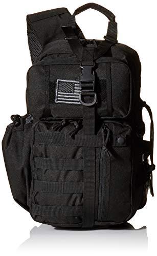 (REEBOW TACTICAL Tactical Assault Sling Pack Military Molle Hunting Range Shoulder Sling Bug Out Bag Backpack Daypack)