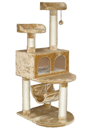 go-pet-club-cat-tree-condo-house-21w-x-24l-x-54h-inches-beige