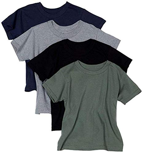 byHanes Hanes Men's ComfortSoft T-Shirt (Pack Of 4) (Assorted, Small) (Gym Clothes Cheap)