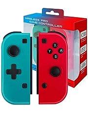 JFUNE Manette sans Fil Contrôleur pour Nintendo Switch, Remplacement pour Switch Joycon, Manettes gauche et droite pour JOYCON(no original)