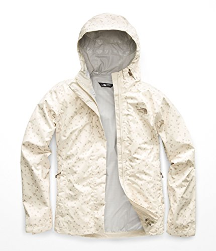 The North Face Women's Print Venture Jacket - Vintage White Sparse Triangle Print - M
