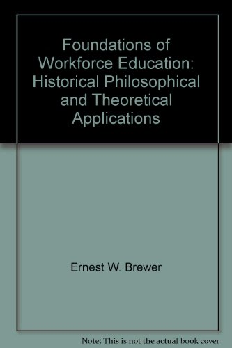 Foundations of Workforce Education: Historical, Philosophical and Theoretical Applications