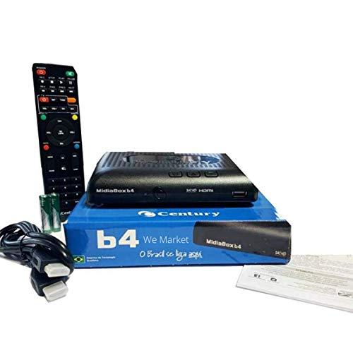 LANÇAMENTO Receptor Midiabox B4 (Sem entrada UHF/VHF)