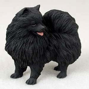 Amazon Com Conversation Concepts Pomeranian Dog Figurine Black