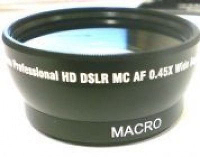 Wide Lens for Canon HFG10, Canon HF S10 G10, Canon S100, Canon HFS10, Canon HFS100 by photo High Quality