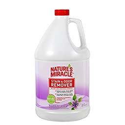 Nature\'s Miracle Scented Stain and Odor Remover, Tropical Bloom Scent, 1-Gallon