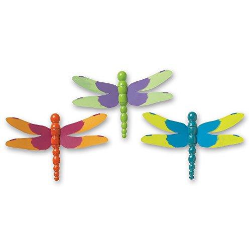 DecoPac Dragonflies 3D DecoPic Cupcake Picks (12 Count)