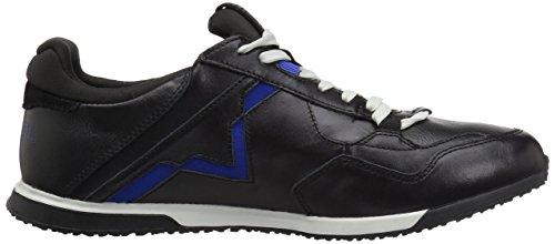 Diesel Mensen Remmi-v S-furyy Sneaker Zwart / Surf Blauw
