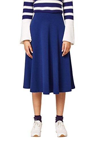 Falda Esprit Para 405 dark Mujer Azul Blue URqgwHRxd