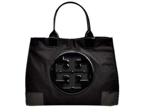 (トリーバーチ) TORY BURCH バッグ BAG トートバッグ ブラック ナイロン エナメル 50009811-009 レディース ブランド 並行輸入品   B00ES57S6W