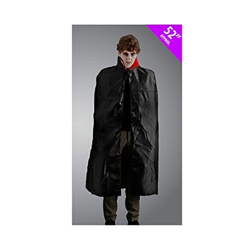 [Scream Machine Adult Dracula Cape (One Size) (Black)] (Official Scream Costumes)