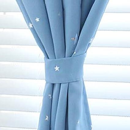 Everpert solide Rideau Occultant Rideau de fen/être Rideau thermique pour enfants 130/x 190cmcm Beige un panneau