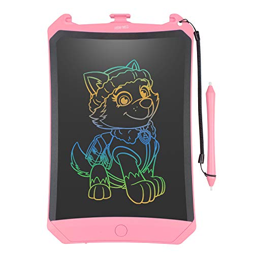 WOBEECO LCD Writing Tablet for Christmas, 2019 Upgraded Colorful Screen 8.5 Inch Electronic Writing Board Doodle and Scribble Board Magnetic Memo Notes Comes with 1 Lanyard for Kid & Adults