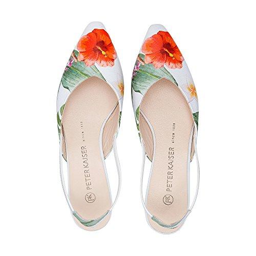 de Kaiser EN Weiss Tropica Multi Peter Trópico Zapatos Bajo Mujeres Carsta Tacón HqE6gS4