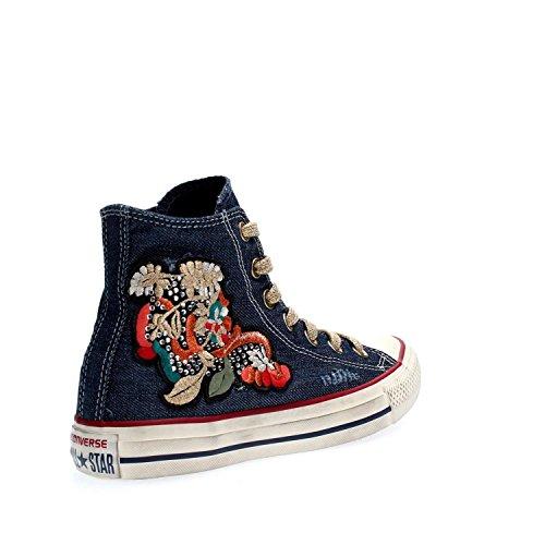 Femme Denim Hi CT Sneakers As Ltd 156917 Converse Denim xqRw8v0Uq