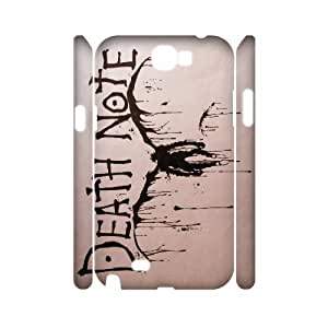DDOUGS Death Note Brand New Cell Phone Case for Samsung Galaxy Note 2 N7100, DIY Samsung Galaxy Note 2 N7100 Case